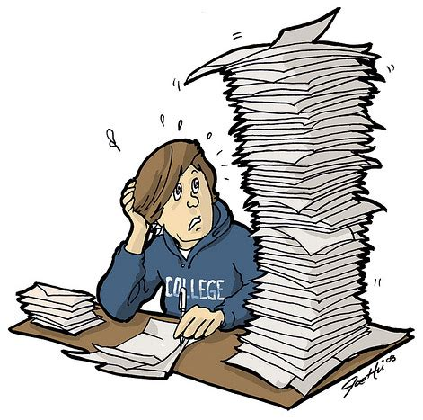 Causes & Effects of Stress in College Students - Term Paper